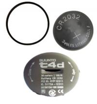 Batterieset SUUNTO t4d mit Metalldeckel