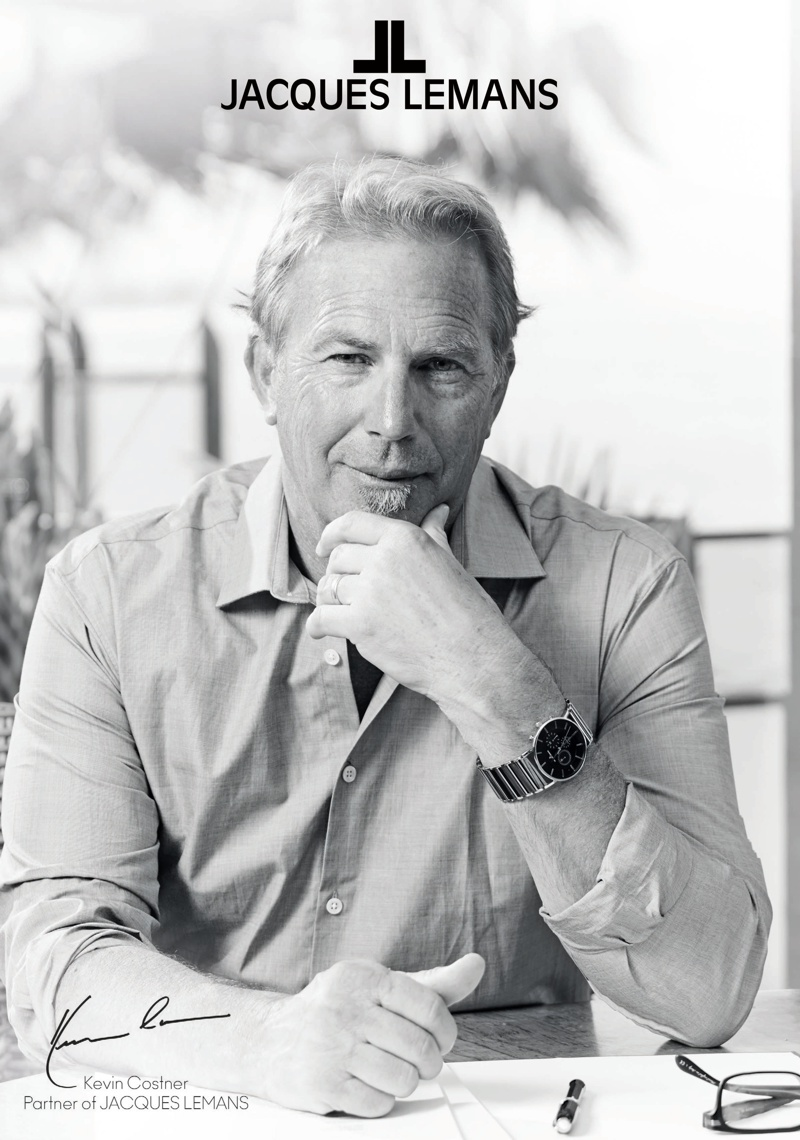 Kevin Costner - Partner of Jacques Lemans